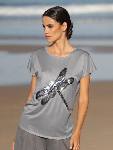 Amy Vermont Shirt mit Libellen-Motiv