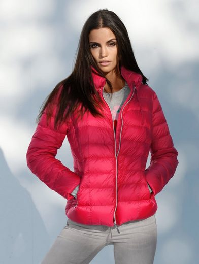 Amy Vermont Slightly Down Jacket With Bulky Stehkragen