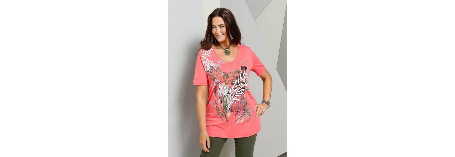 MIAMODA Shirt mit grafischem Druck vorne Online-Shopping Hohe Qualität tnN57ir
