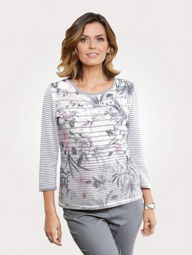 Mona Pullover mit Blumendessin