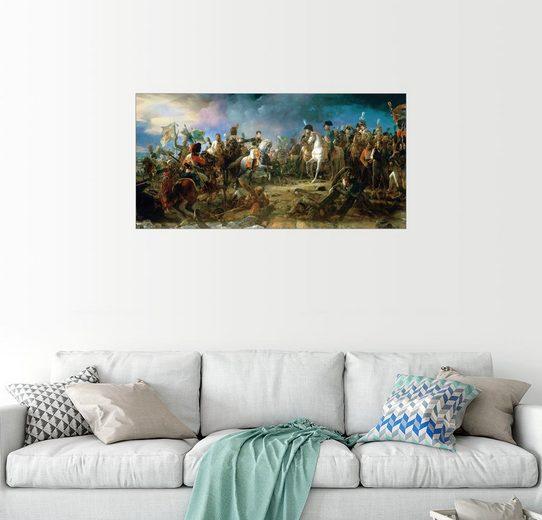 Posterlounge Wandbild - François Pascal Simon Gerard »Schlacht bei Austerlitz«