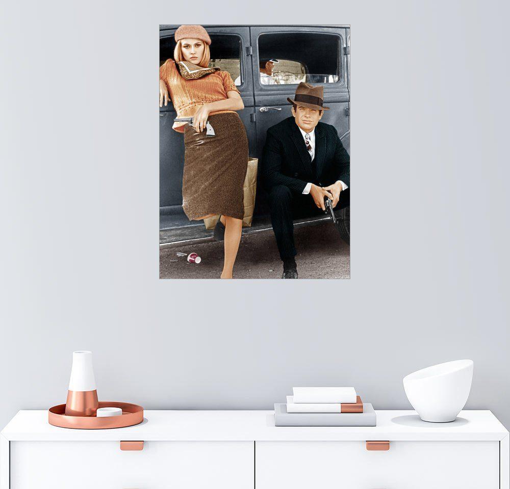Posterlounge Wandbild »Bonnie und Clyde«