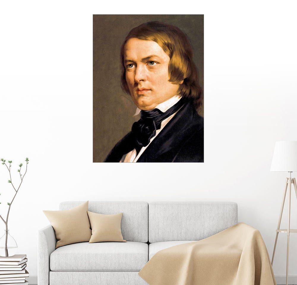 Posterlounge Wandbild »Robert Schumann«