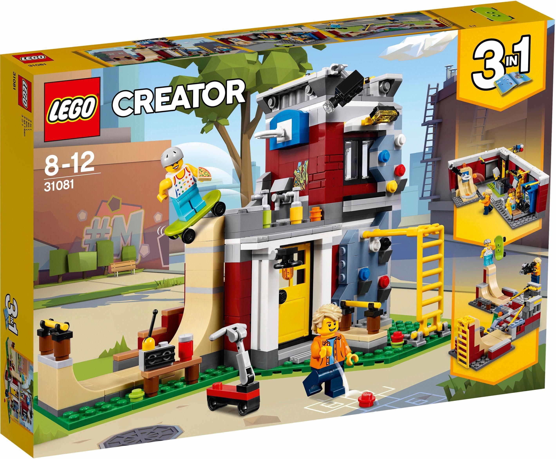 LEGO® Konstruktionsspielsteine »Umbaubares Freizeitzentrum (31081), LEGO® Creator«, (422 St)