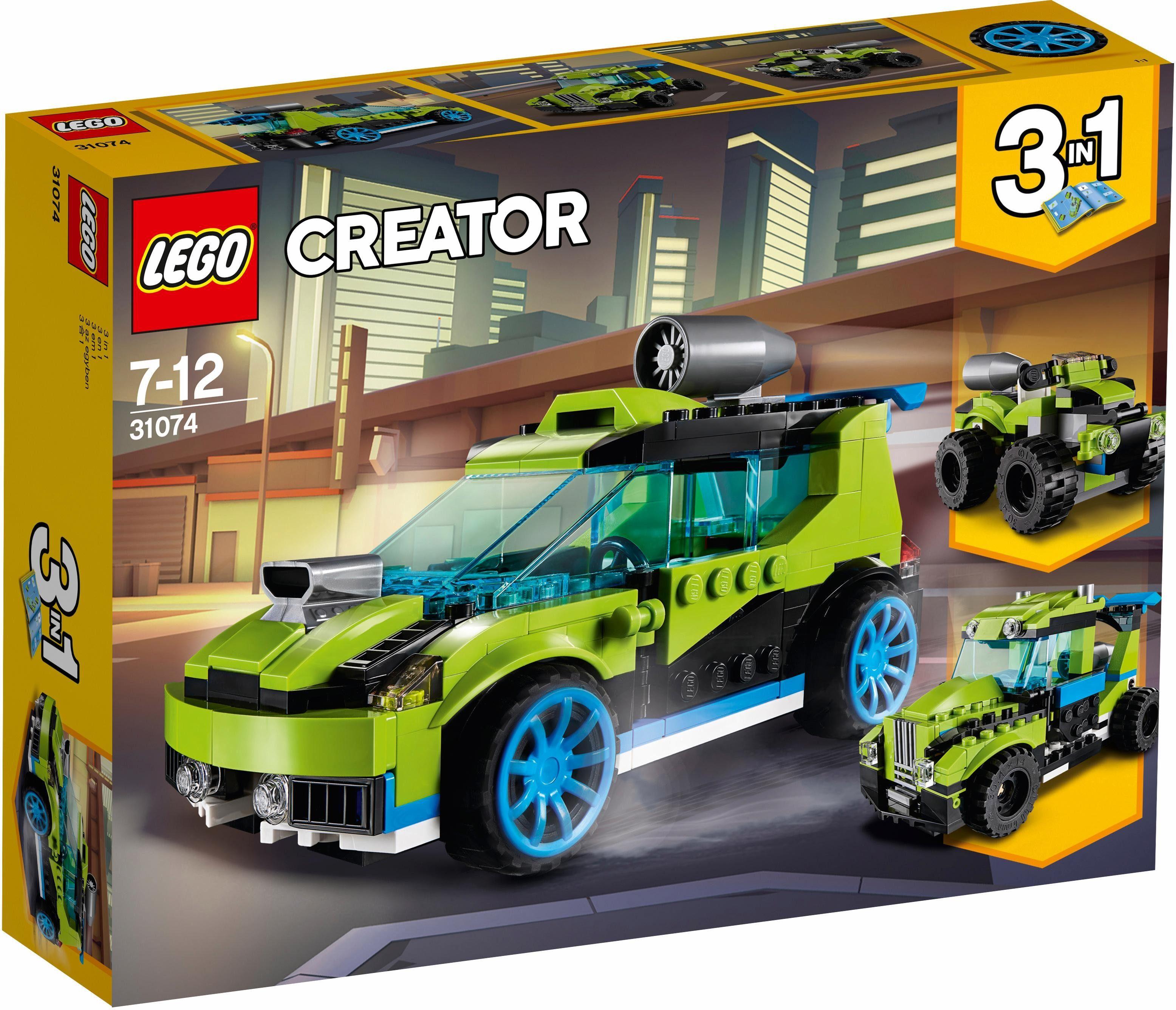 LEGO® Raketen-Rallyeflitzer (31074), »LEGO® Creator«