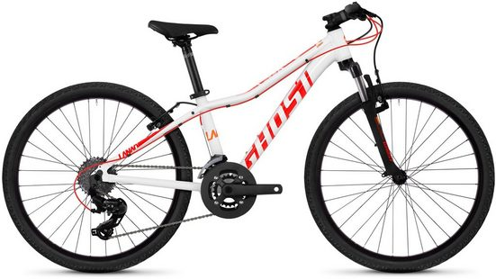 Ghost Mountainbike »Lanao 2.4 AL W«, 16 Gang Shimano Tourney TX RD-TX800 8-S Schaltwerk, Kettenschaltung