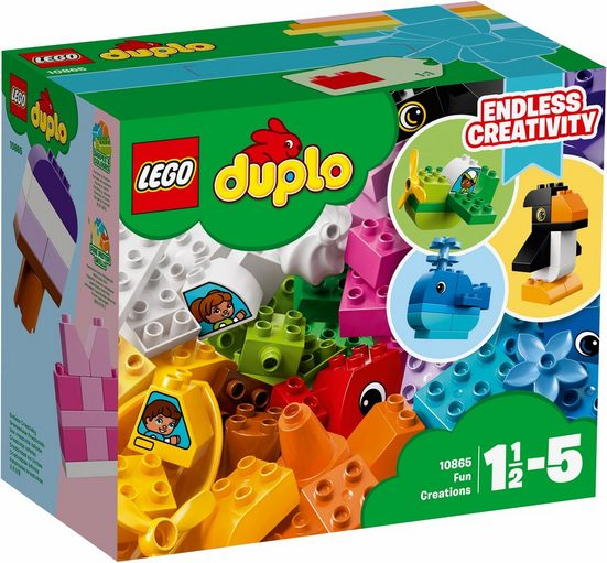 LEGO® Konstruktionsspielsteine »Witzige Modelle (10865), LEGO® DUPLO®«, (70 St)