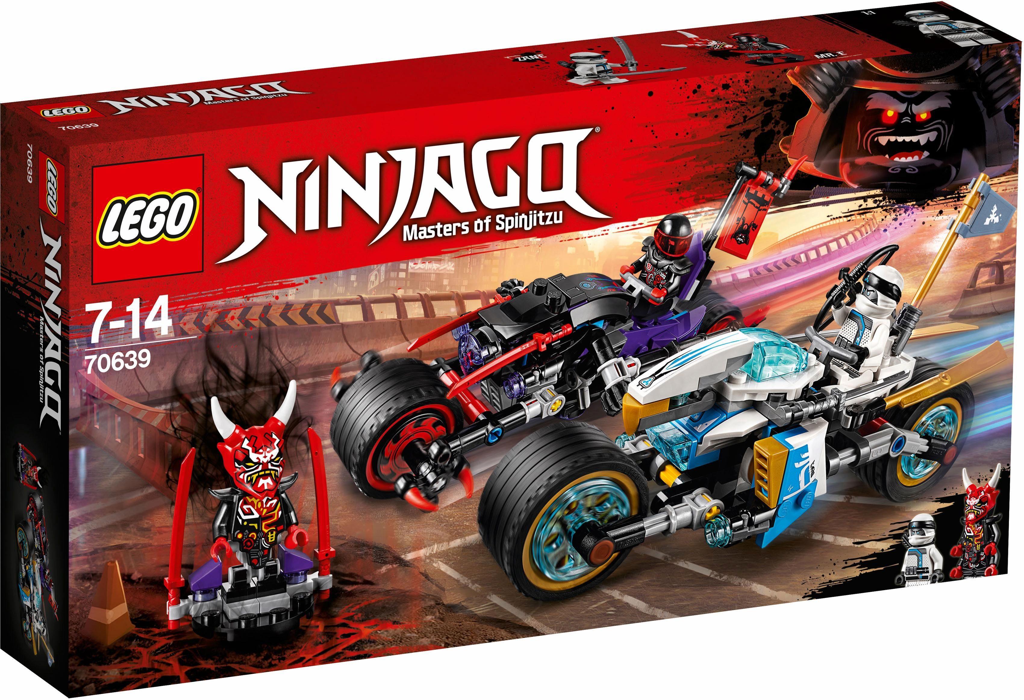LEGO® Straßenrennen des Schlangenjaguars (70639), »LEGO® NINJAGO®«