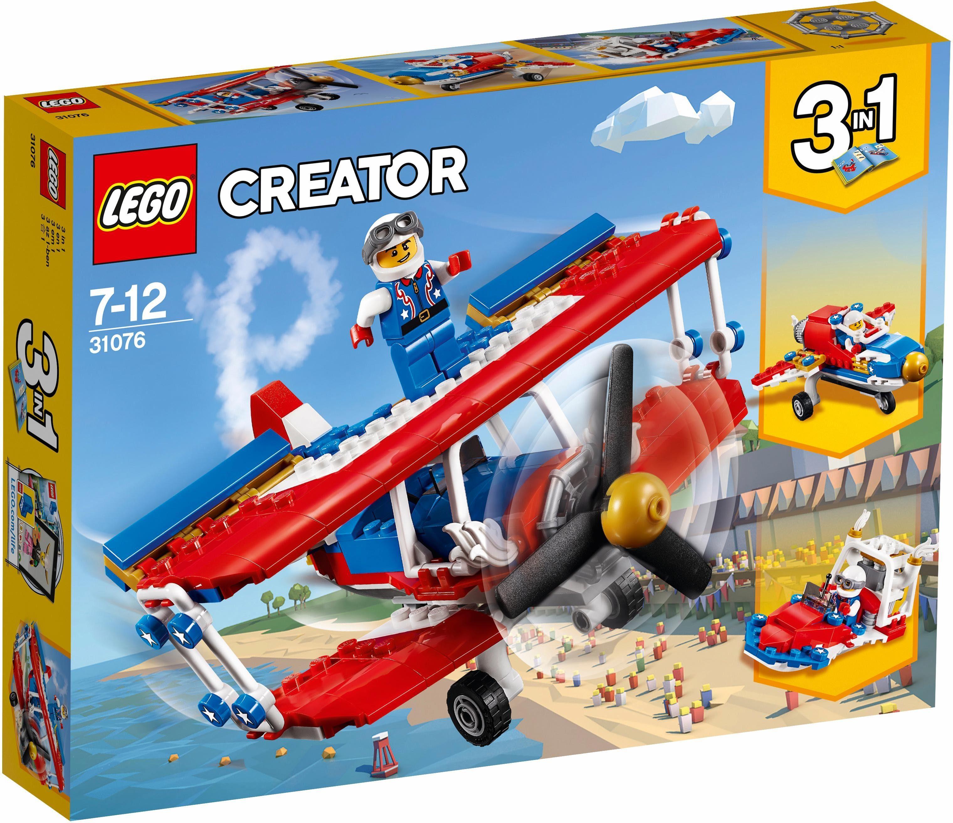 LEGO® Tollkühner Flieger (31076), »LEGO® Creator«