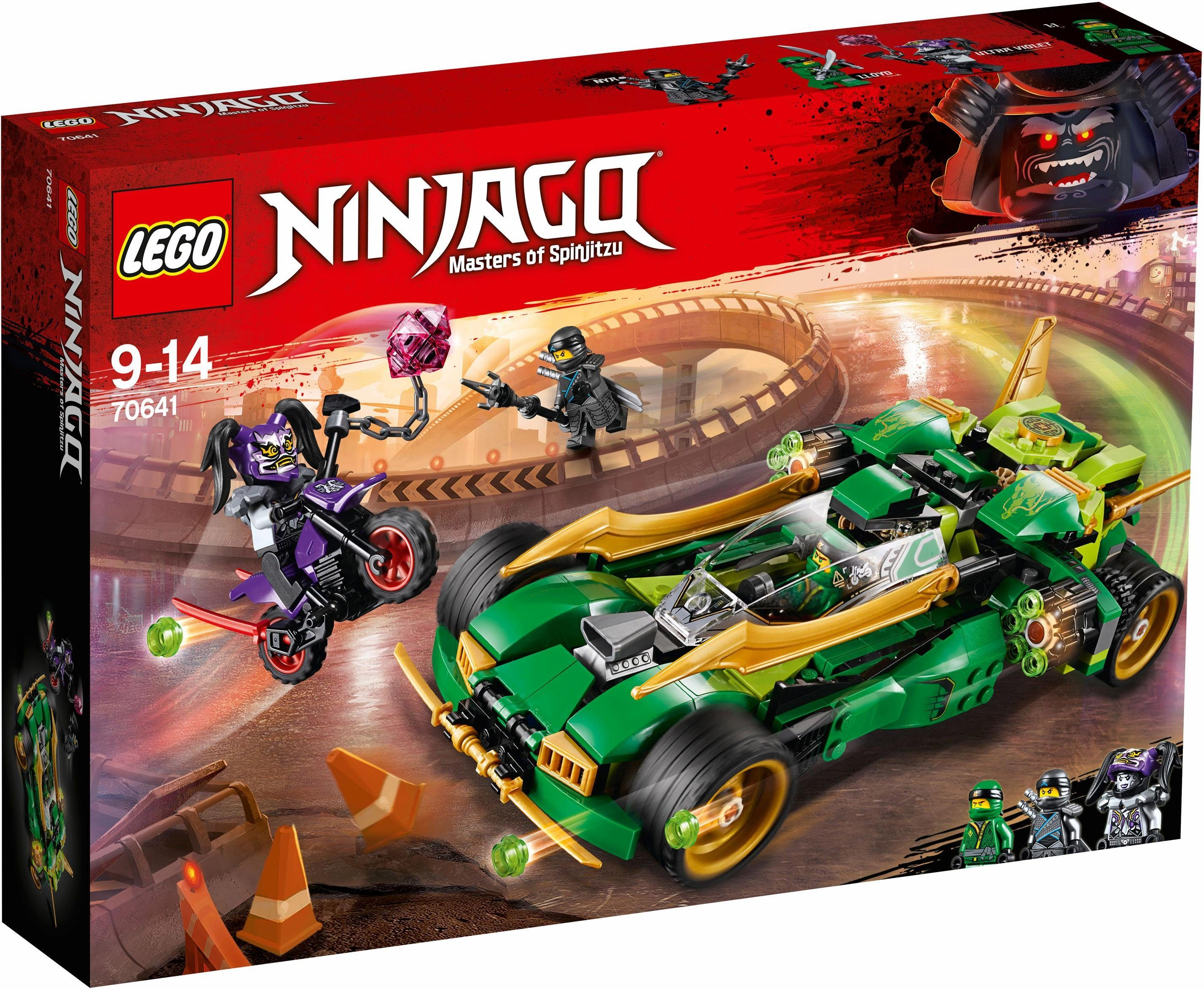 LEGO® Lloyds Nachtflitzer (70641), »LEGO® NINJAGO®«