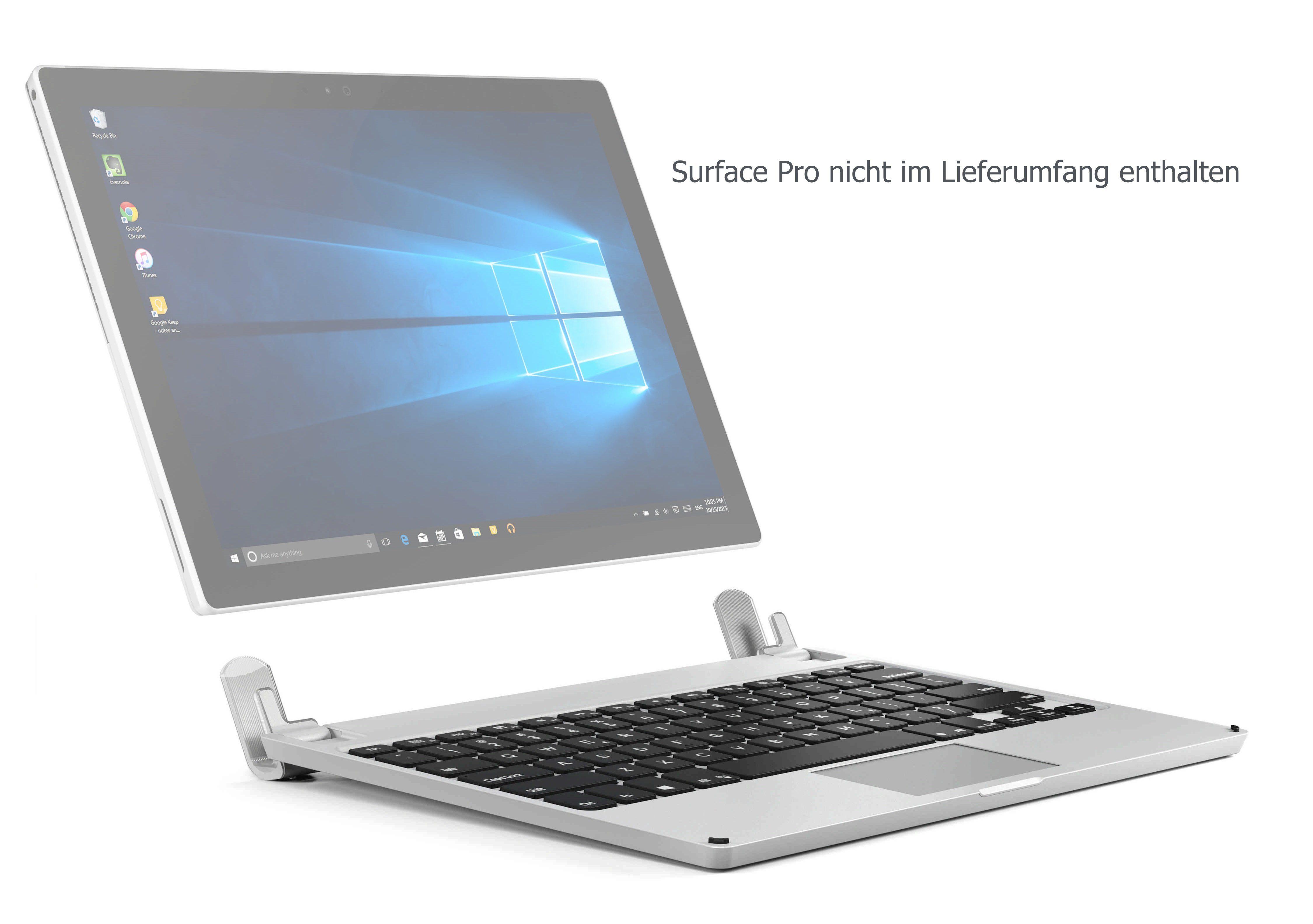 Brydge Bluetooth-Tastatur für Surface Pro Tablets (128 GB Speicher) »Brydge 12.3 Pro 128«