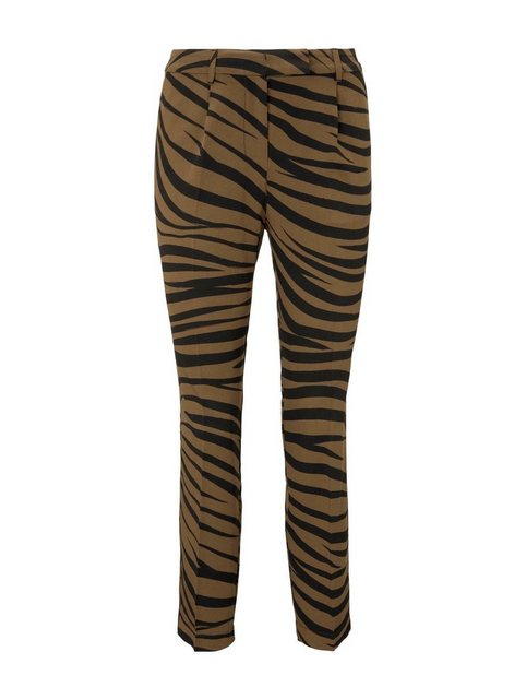 Hosen - TOM TAILOR mine to five Chinohose »Tapered Hose im Zebra Muster« ›  - Onlineshop OTTO