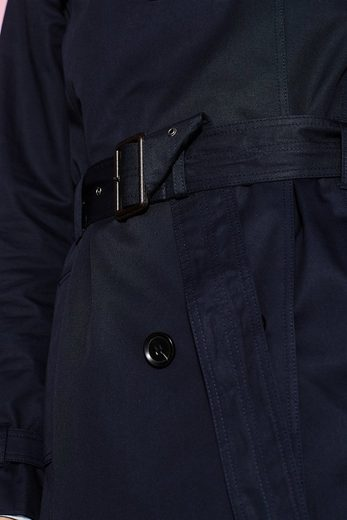 ESPRIT Klassischer Trenchcoat aus Baumwolle