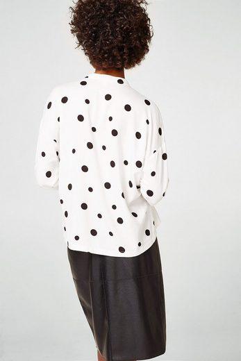ESPRIT Modische Bluse mit Polka Dots