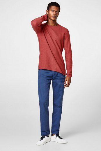 EDC BY ESPRIT Stretch-Jeans mit Wrinkle-Effekt