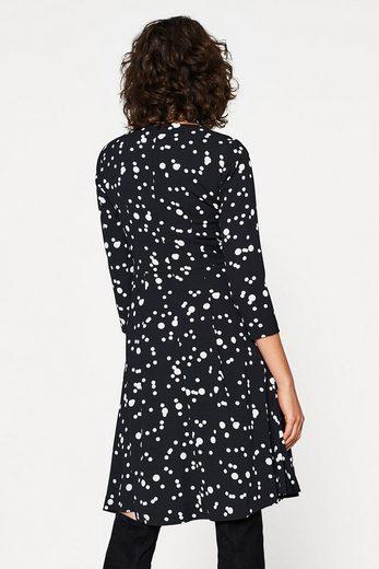 EDC BY ESPRIT Ausgestelltes Kleid mit Allover-Print
