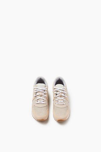 Sneaker Sport À Lacets Esprit Avec Garniture En Cuir