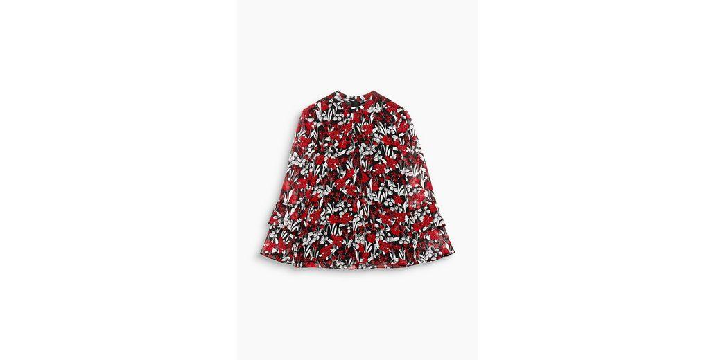 Günstig Kaufen Footaction ESPRIT COLLECTION Fließende Bluse mit Blumen-Print Günstig Kaufen 100% Garantiert Niedriger Preis Zu Verkaufen Shop Für Online L1yWDJexG3