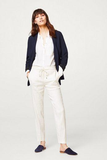 ESPRIT Jersey-Blazer mit sportiver Streifen-Struktur