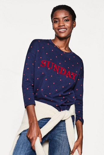 ESPRIT Lässiges Sweatshirt aus reiner Baumwolle