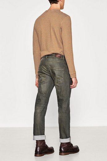 ESPRIT Stretch-Jeans mit markanter Waschung
