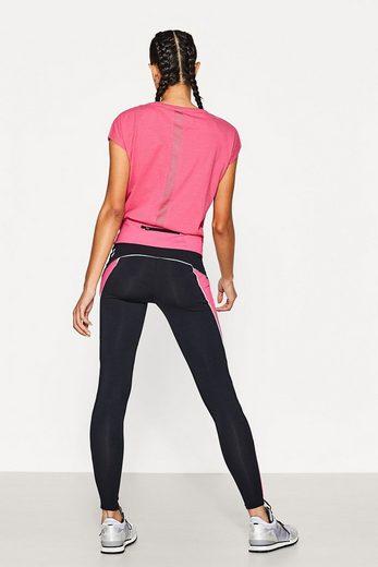 ESPRIT Active-Pants mit farbigen Details, E-DRY