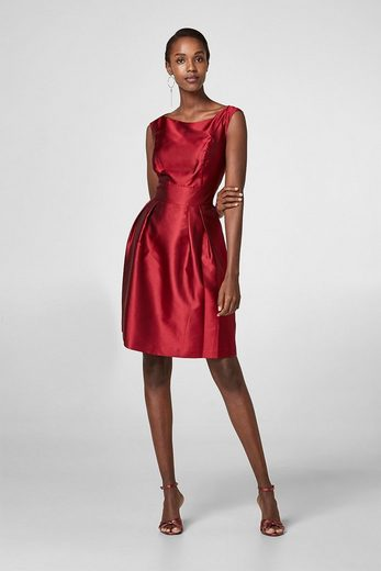 ESPRIT COLLECTION Partykleid mit seidigem Schimmer
