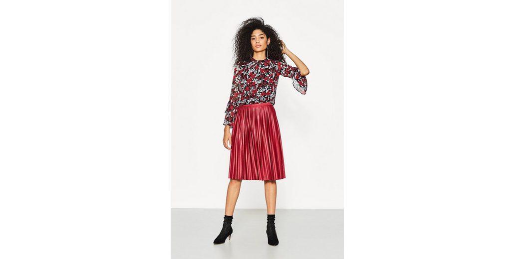ESPRIT COLLECTION Fließende Bluse mit Blumen-Print Ausverkauf Günstig Kaufen Angebote Niedriger Preis Zu Verkaufen Shop Für Online eKMOFCkX