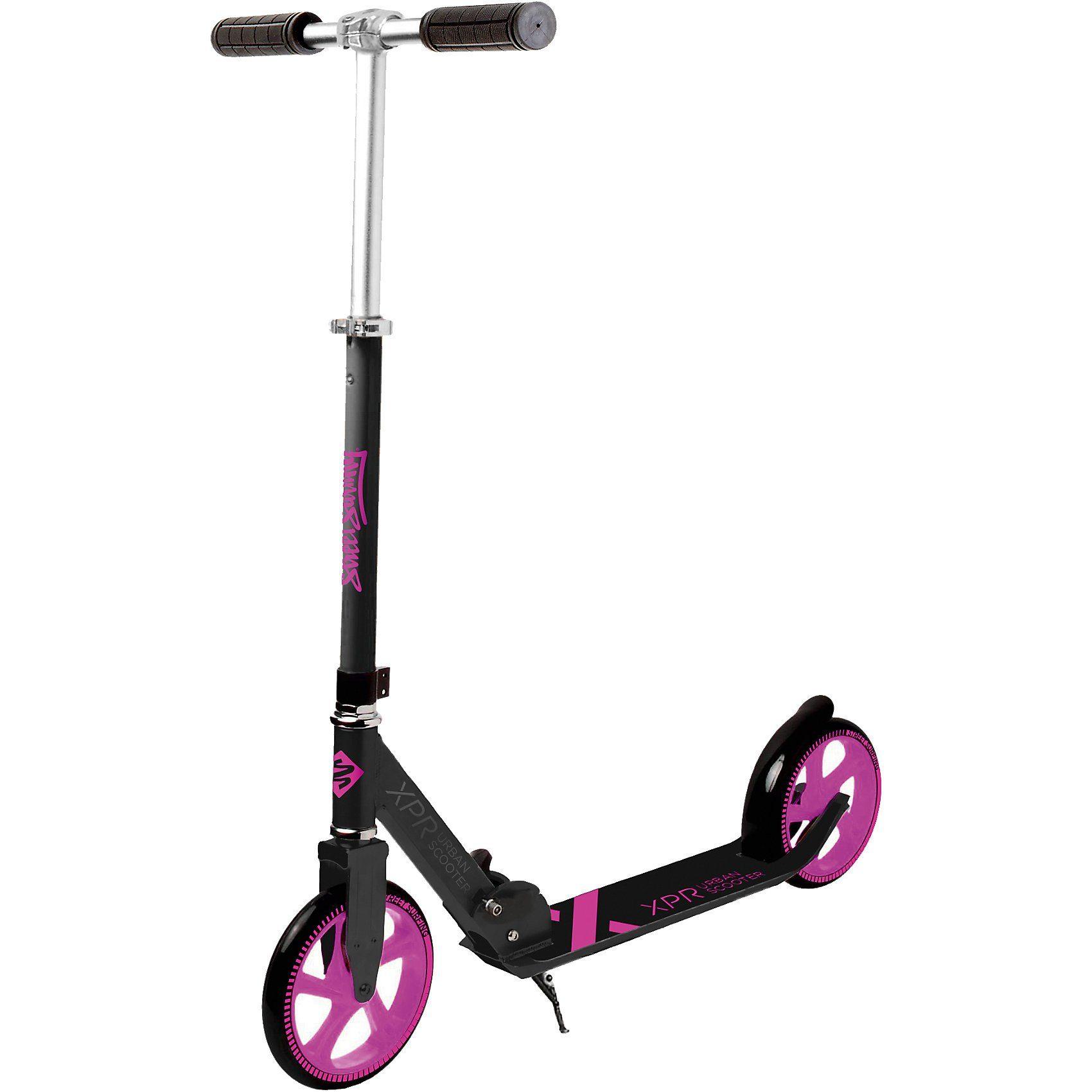 Streetsurfing Scooter 205 XPR Urban, schwarz-pink