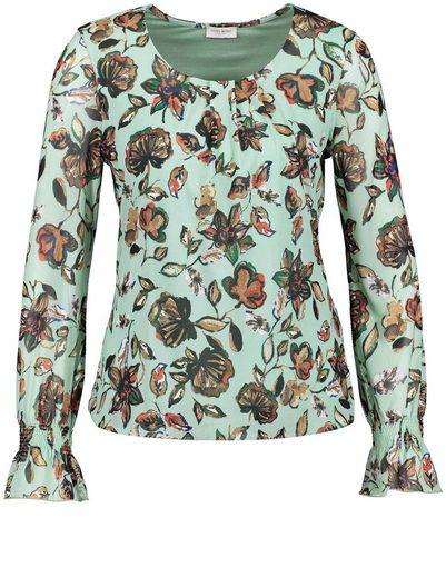 Gerry Weber T-shirt 1/1 Arm Shirt Blouses Made Of Mesh