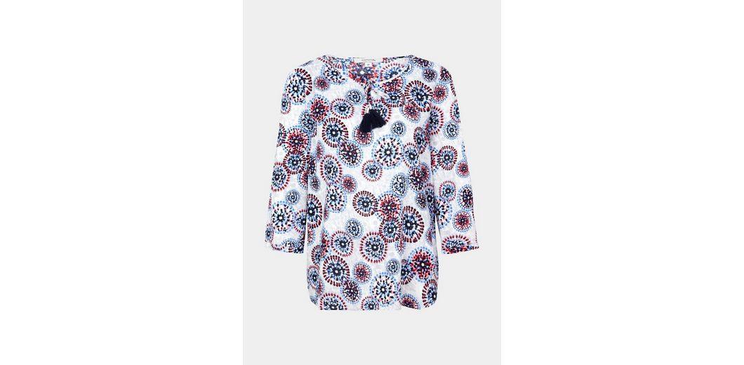 Spielraum Zuverlässig Klassische Online COMMA Blusenshirt mit farbenprächtigem Musterprint jHZa5YM