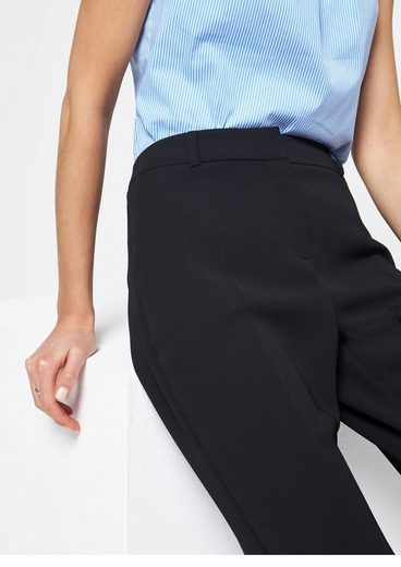 COMMA Elegante Businesspants mit Bügelfalten