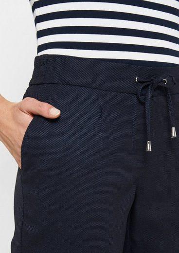 COMMA Sportliche Loungepants mit Bindebändern