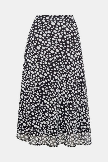 Esprit Collection Vibrating Midi-skirt Made Of Chiffon