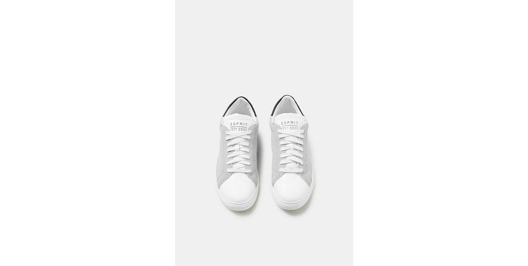 Billig Verkauf Verkauf ESPRIT Retro-Sneaker in Leder-Optik Discount-Marke Neue Unisex Verkauf Des Niedrigen Preises C9JZR