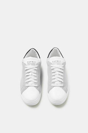 ESPRIT Retro-Sneaker in Leder-Optik