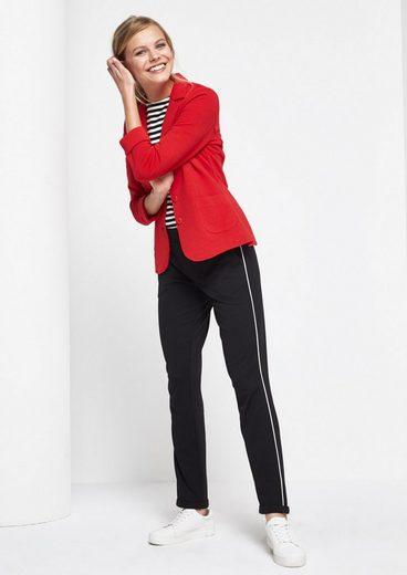 COMMA Sportliche Loungepants mit seitlichen Streifen