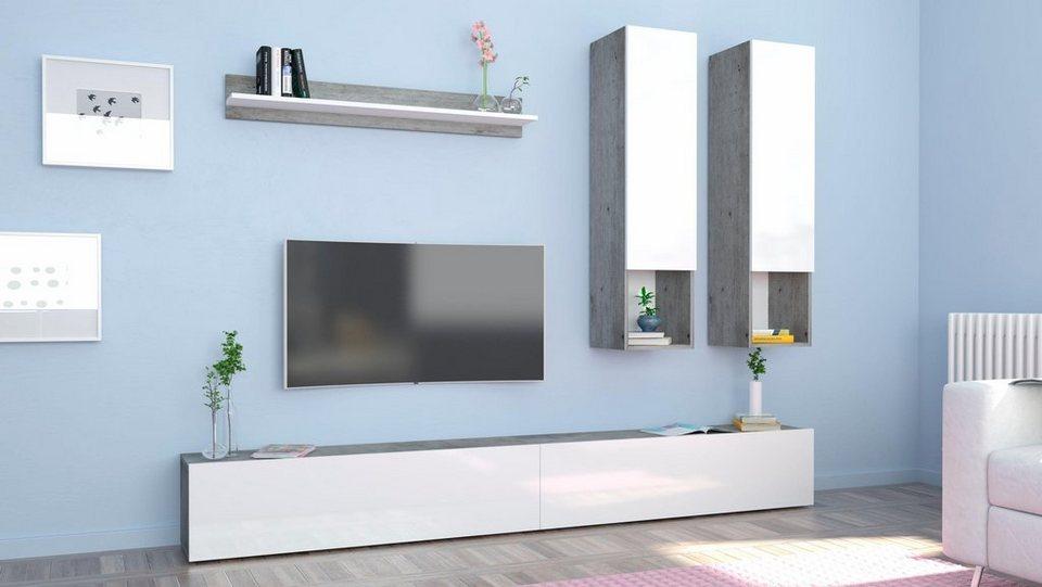 Tecnos Wohnwand (5-tlg.) online kaufen | OTTO