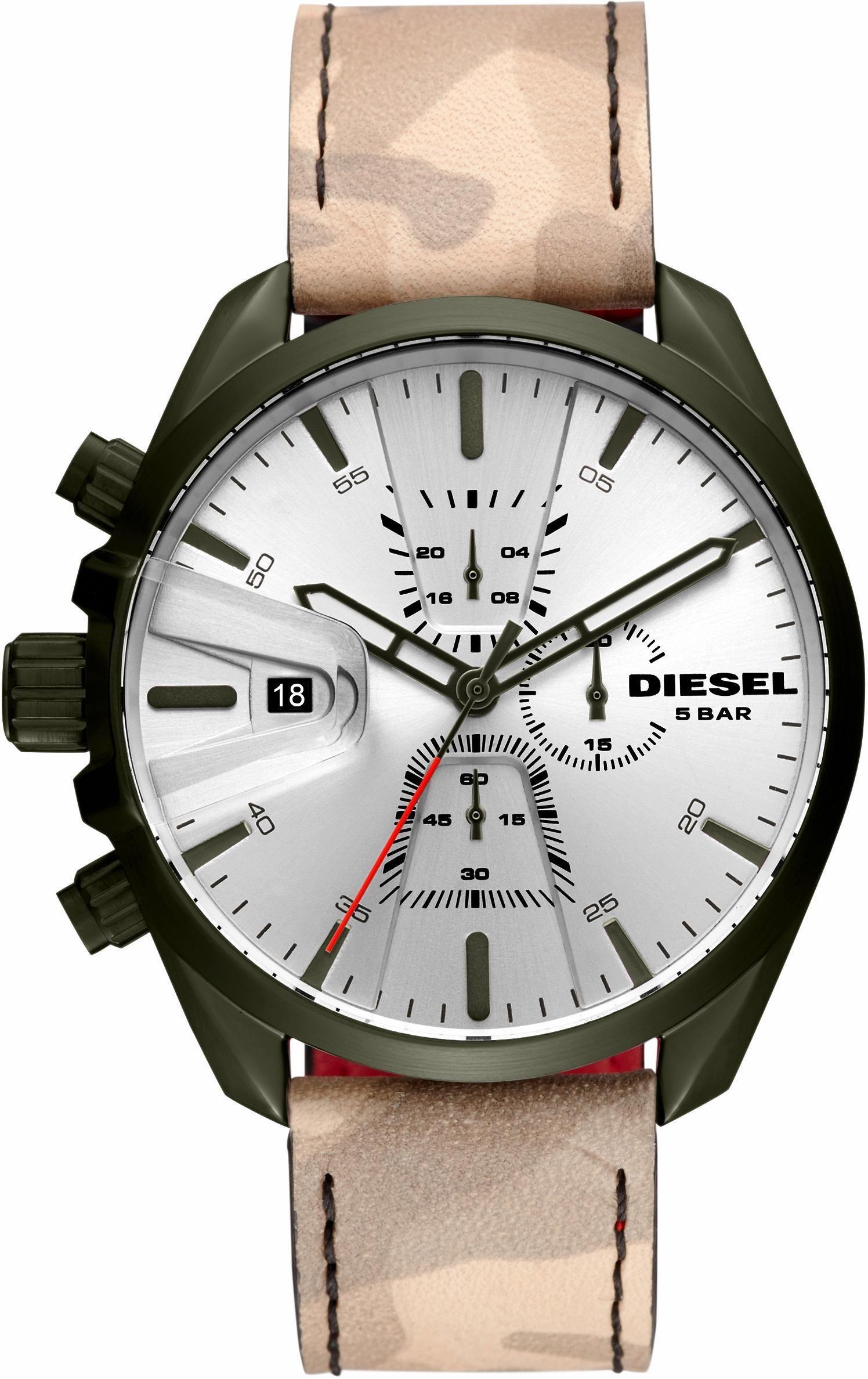 Herren Diesel Chronograph MS9 CHRONO, DZ4472 (Set, 2 tlg)  | 04053858972421