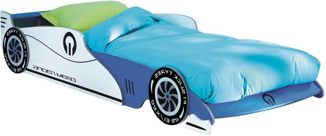 Kinderbetten - Demeyere GROUP Kinderbett »Grand Prix« » blau  - Onlineshop OTTO