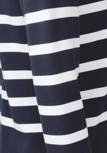 Street One 3/4-Arm Shirt mit Streifen
