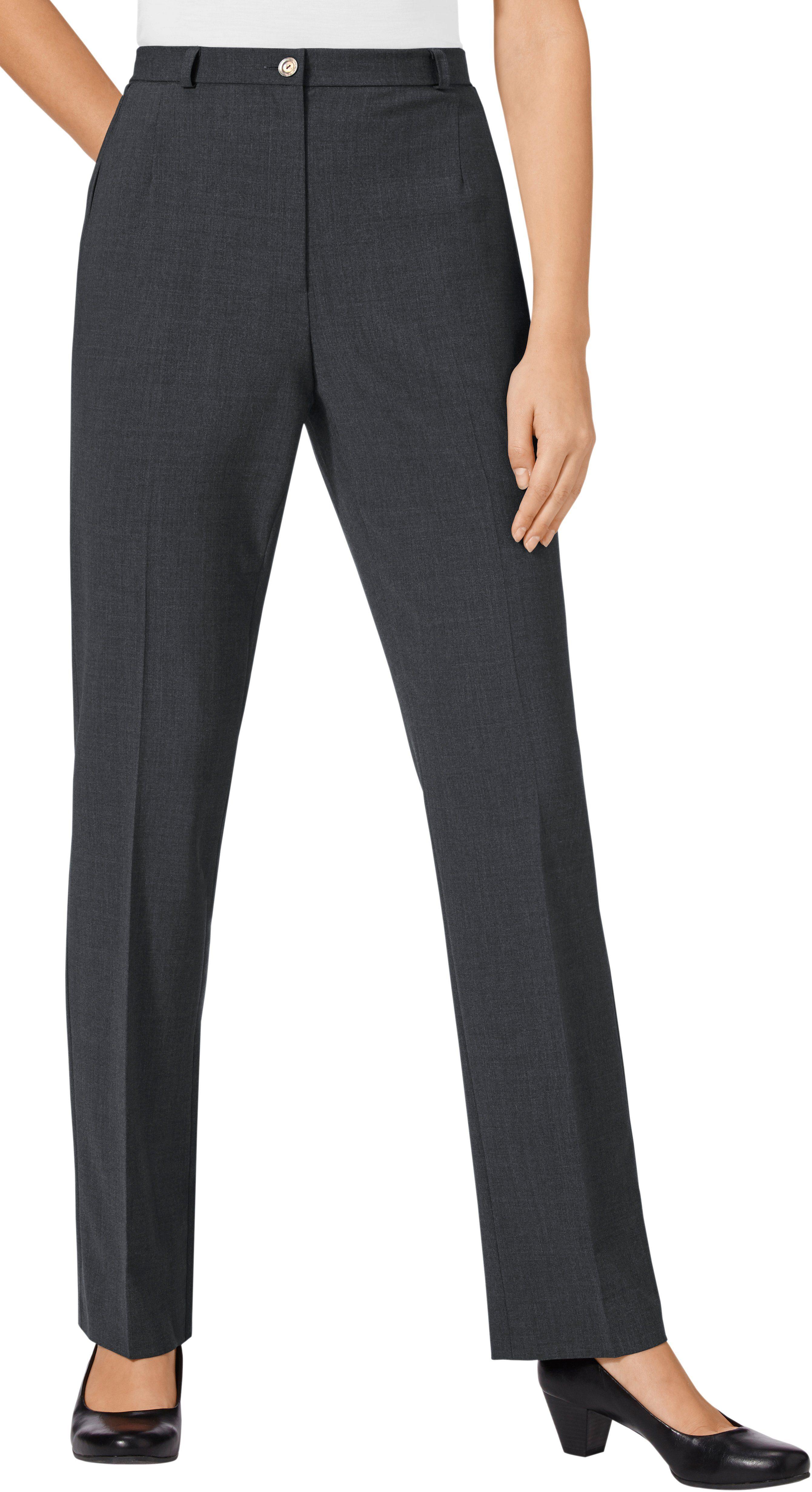 Classic Hose im hochwertigen Materialmix mit Schurwolle