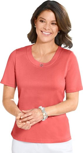 Shirt mit aufwändiger Steinchen-Verzierung