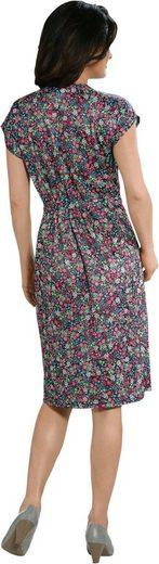 Jersey-Kleid in Schlupfform