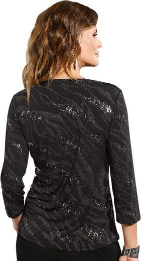 Lady Shirt mit hohem Glamour-Potenzial