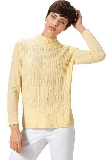 Classic Basics Pullover mit Zopfmuster