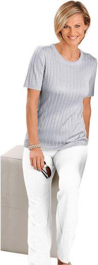 Pullover mit geripptem Ärmel- und Saumabschluss