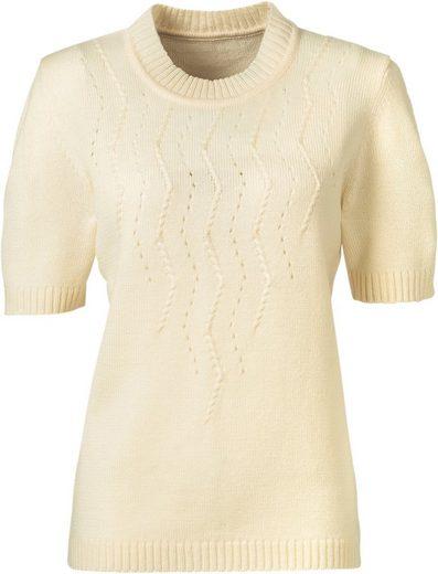 Pullover mit apartem Einstrickmuster
