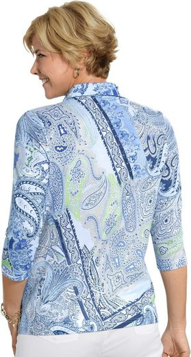 Shirt in Paisley-Dessin