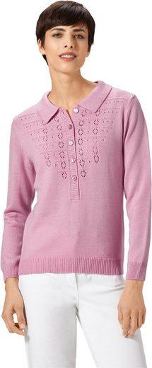 Pullover mit dezentem Ajourmuster